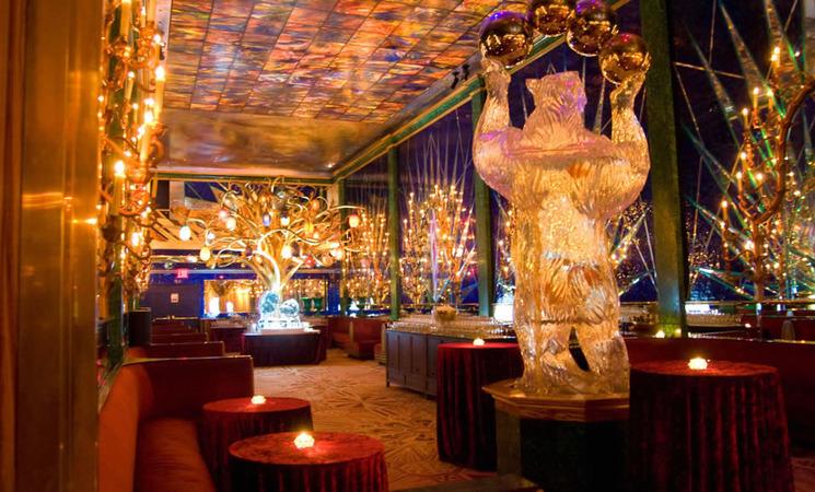 Знаменитый ресторан в Ny декорированный Маратом Ка Все