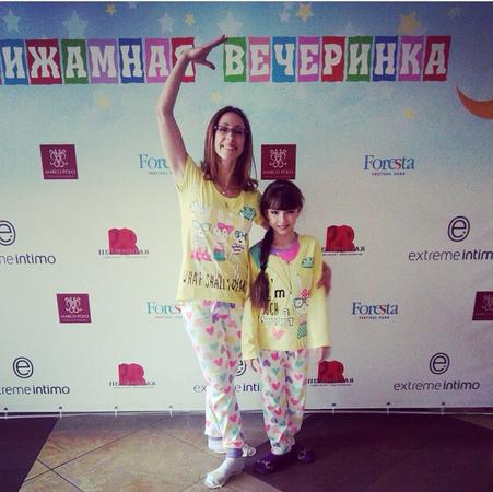 актриса Маша Ильюхина с мамой