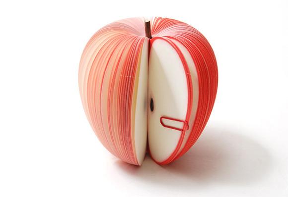 Как сделать блокнот яблоко