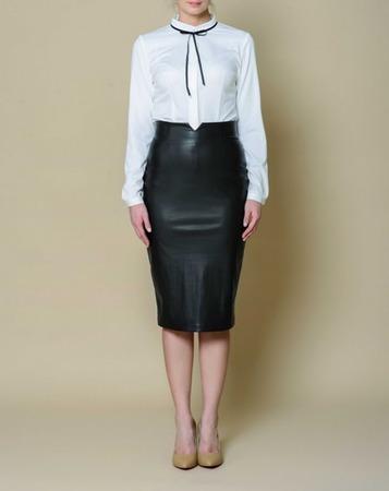 Кожаные юбки RIVA