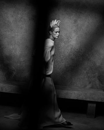 Дом Dior представил фотоальбом Питера Линдберга