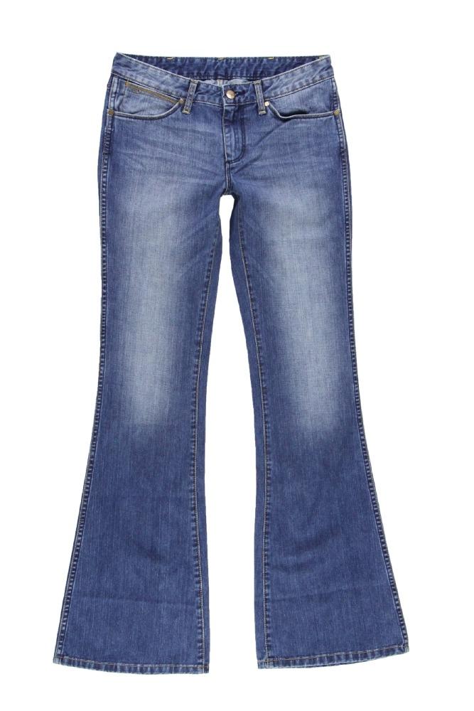 Купить джинсы клеш