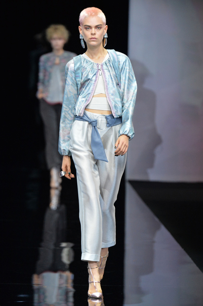 Неделя моды в Милане: Giorgio Armani