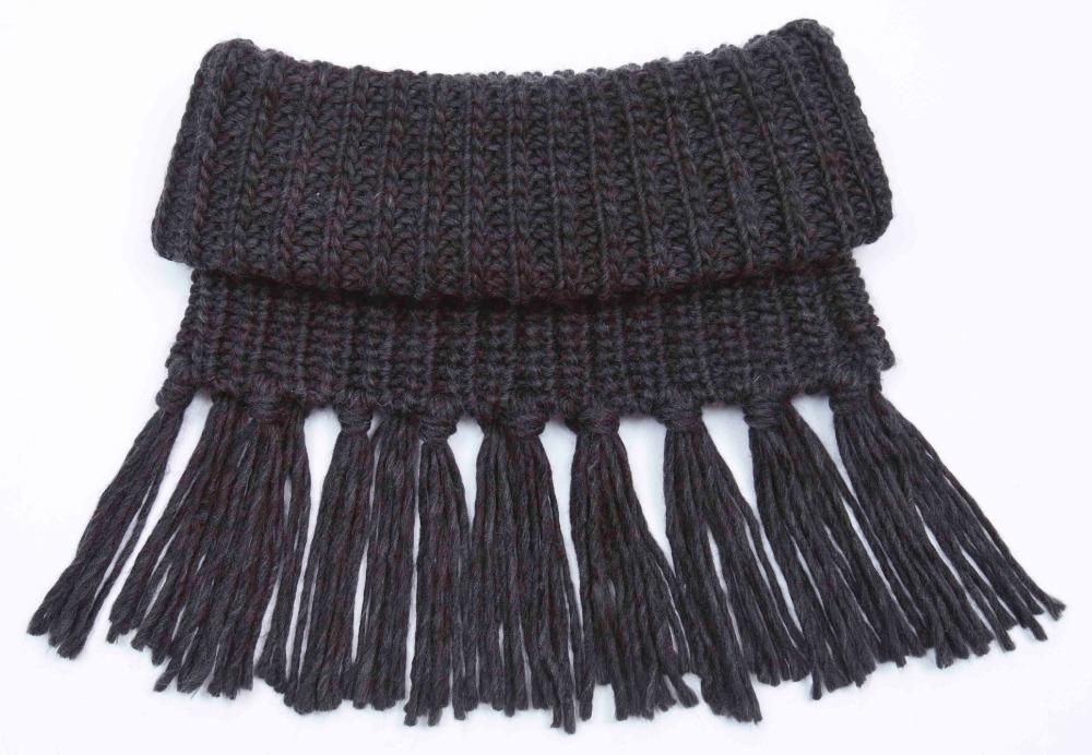 Как на шарфе сделать кисти