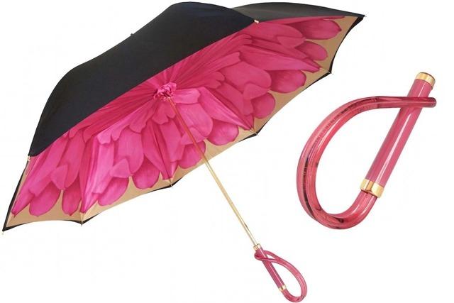 Зонты с узором внутри