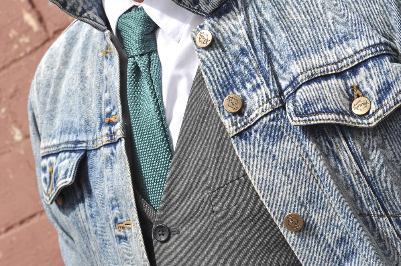 Вязаные галстуки и галстуки-бабочки: как носить - Шубка