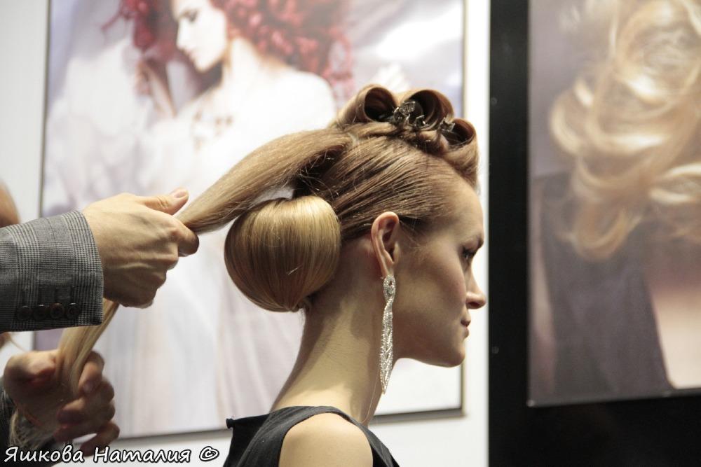 Мастер класс прически на длинные волосы руслан татьянин
