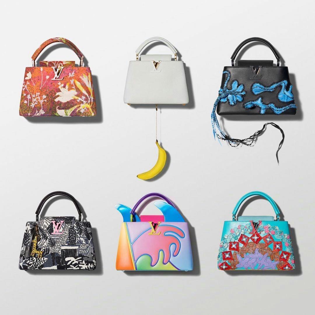 f06e653b9759 Дом Louis Vuitton представил результаты своей новой коллаборации. На этот  раз парижская марка сотрудничала с шестью современными художниками, ...