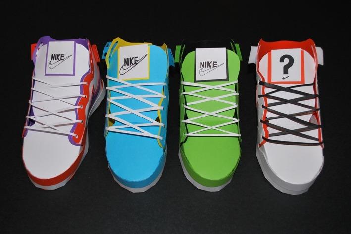 Как сделать кроссовки на размер больше