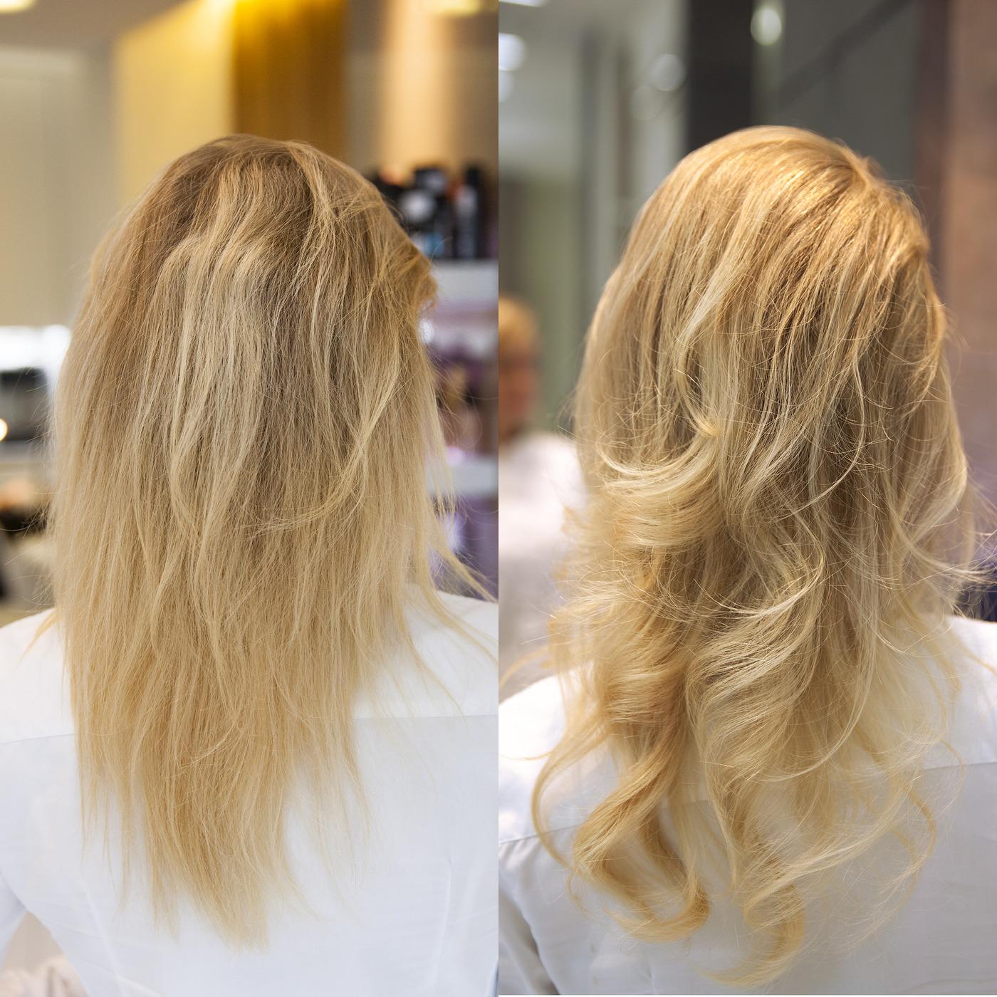 Чтобы волосы стали волнистыми