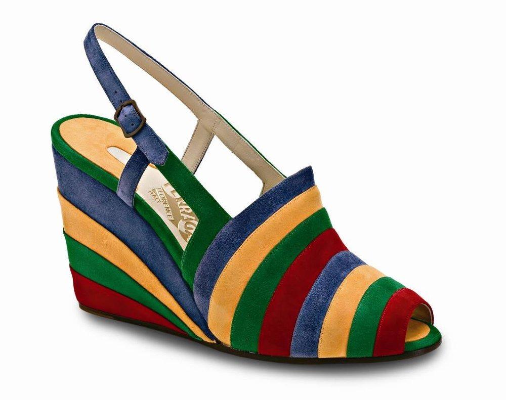 c68bde0da353 Salvatore Ferragamo представляет уникальную экспозицию обуви из  лимитированной музейной коллекции