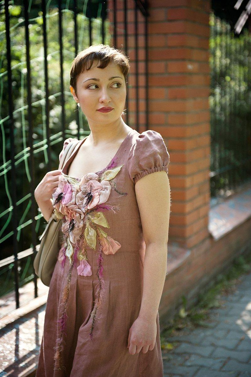 Модные Платья Из Цветного Льна