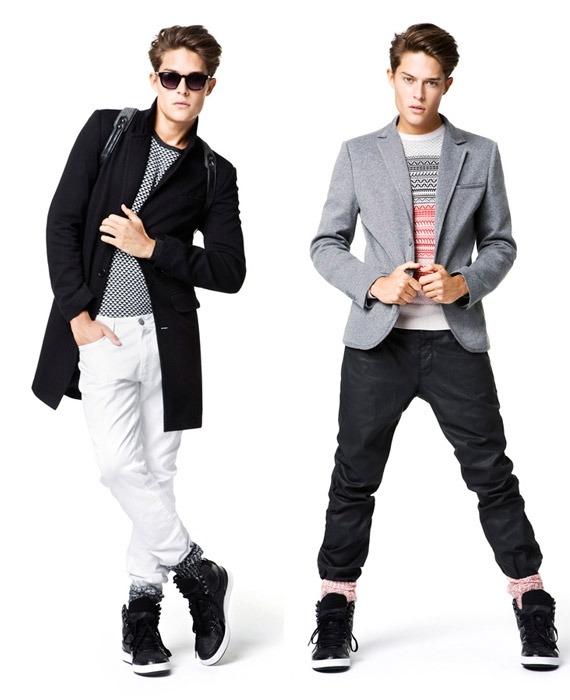 Модные Люди Одежда