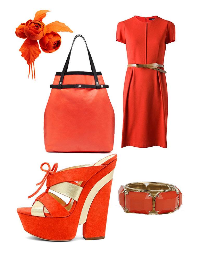 Модные платье и туфли