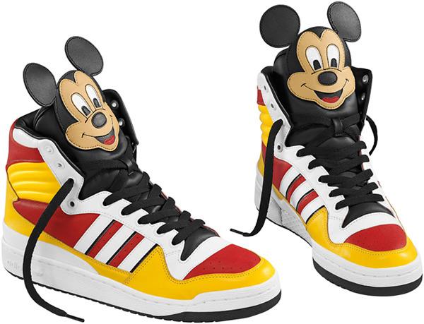 Микки Маус в новой коллекции Adidas   Глянцевый блог   Intermoda.Ru ... 24254b62620