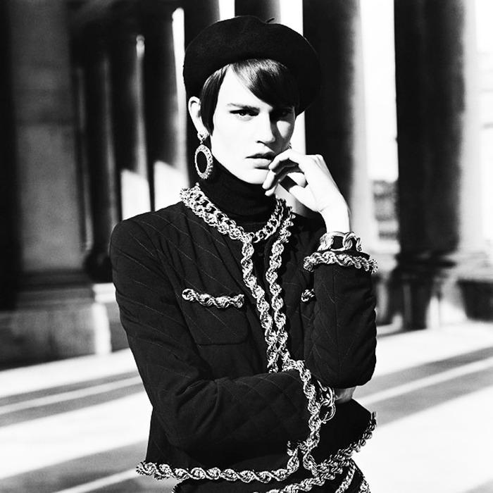 971b27a41 Саския де Брау в фотосессии Vogue Paris. Декабрь-январь, 2014/15 ...