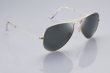 faba09aa7307 Компания Ray-Ban, лидер в производстве очков, представляет новую  интерпретацию культовой модели Aviator - AVIATOR SOLID GOLD.