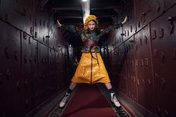 KLIMKOVA KIDS «45 метров под землей» специально для недели Высокой моды «Milan Fashion Week»