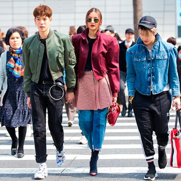 Корейская Мода Осень 2017