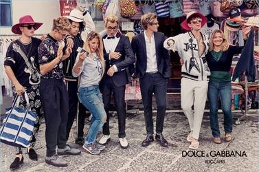 Дети знаменитостей в рекламе Dolce & Gabbana. Весна-лето, 2017