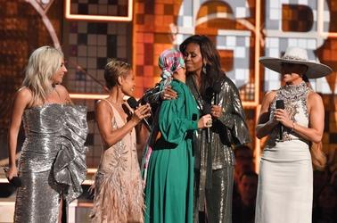 Гости церемонии вручения наград Grammys 2019