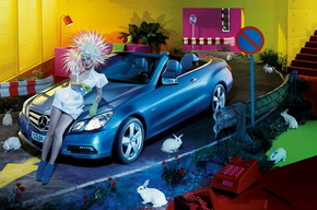 Мила Йовович для Mercedes Benz