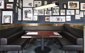 Интерьер нового ресторана DSquared2