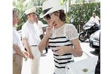 Прогулка Коул по самой модной набережной мира.