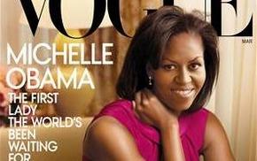 Мишель Обама на обложке мартовского Vogue