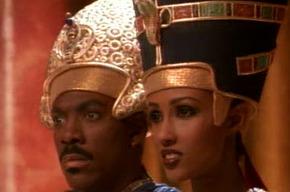 Эдди Мерфи и Иман в клипе Майкла Джексона Remember The Time