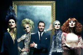 Коллекция Тома Форда в Vogue