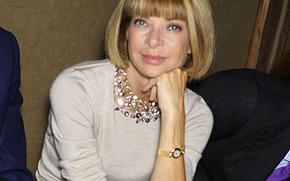 Главный редактор American Vogue Анна Винтур - грандама в современной моде.