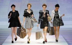 Фотография с недели моды в Гонконге, январь 2009