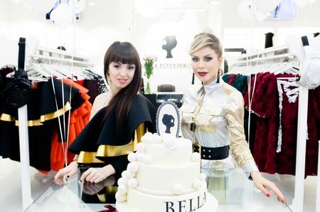 Белла Потёмкина открыла свой фирменный бутик в Санкт-Петербурге