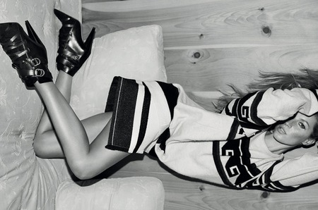 Жизель Бюндхен для рекламной кампании Isabel Marant, осень 2014
