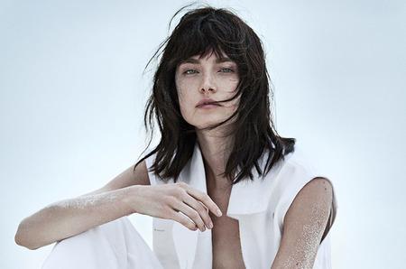 Жаклин Яблонски в июньском номере Vogue Россия