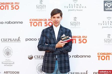 Леонид Алексеев получил премию «ТОП 50. Самые знаменитые люди Петербурга 2012»