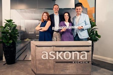 Открытие первой кухонной студии Askona