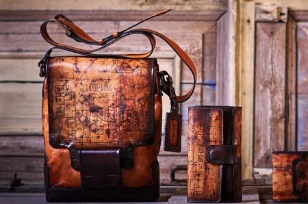Мужская сумка — как произведение искусства