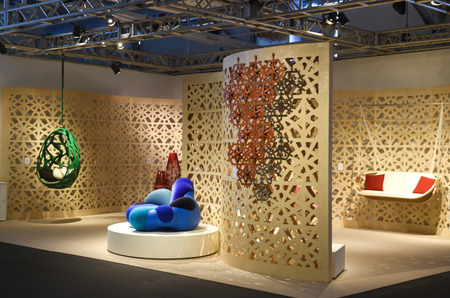 Стенд Louis Vuitton на выставке Art Basel
