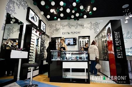 Монобрендовый магазин EVITA PERONI во Владивостоке.