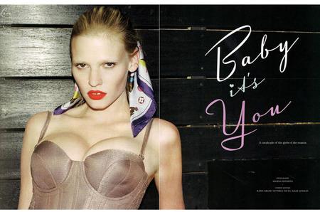 «Звездный набор» в фотосессии Baby It's You