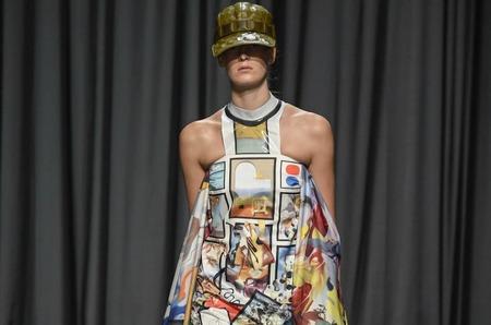 Неделя моды в Лондоне: Mary Katrantzou. Весна, 2019