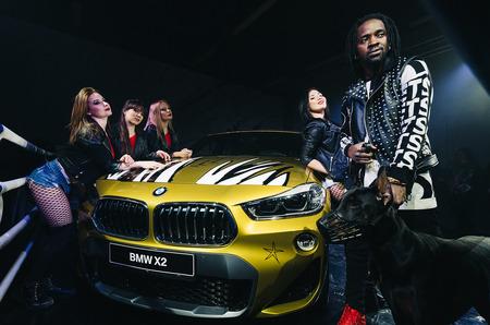 Модная вечеринка: дизайнерский BMW X2 в Адванс-Авто
