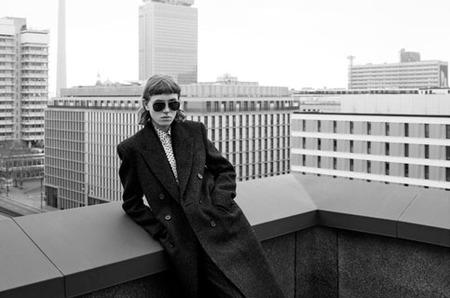 Монохромный Берлин в рекламе Celine. Осень, 2019