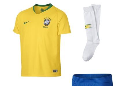 Футбольная форма Бразилии Nike в STREET BEAT KIDS