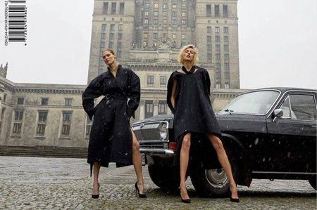 Скандальный дебют польского Vogue
