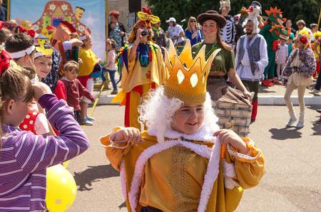 Модное шоу: карнавал «Москва – сказочный город»