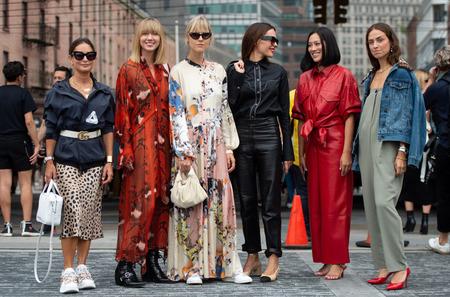 Стритстайл: Неделя моды в Нью-Йорке. Весна, 2019
