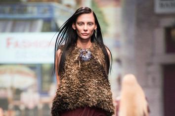 На Неделе моды в Москве прошел юбилейный показ  FashionTime Designers